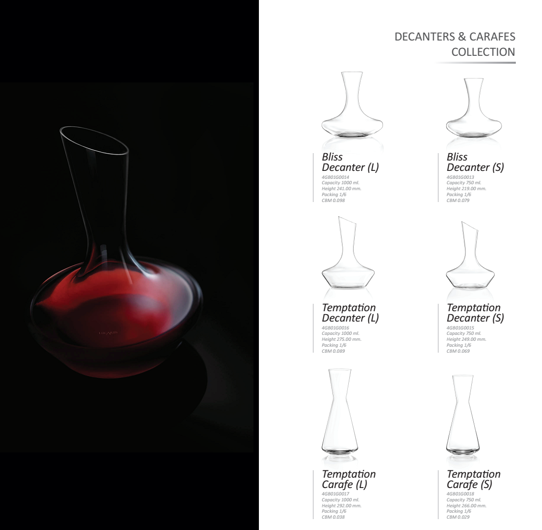 Decanters & Carafes Collection