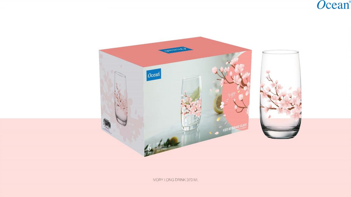 Peach Blossom Ivory HB Set